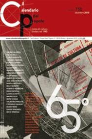 """Il Calendario del Popolo n.750 """"65° anniversario"""" - copertina"""