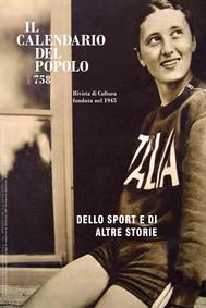 """Il Calendario del Popolo n.758 """"Dello sport e di altre storie"""" - copertina"""