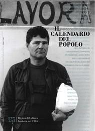 """Il Calendario del Popolo n.751 """"Lavoro"""" - copertina"""