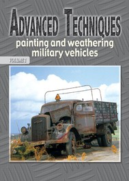 Advanced techniques painting and weathering military vehicles - copertina