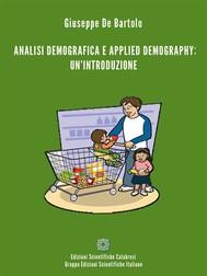 Analisi demografica e applied Demography: un'introduzione - copertina