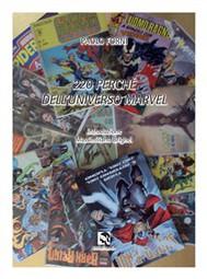 220 perché dell'Universo Marvel - copertina