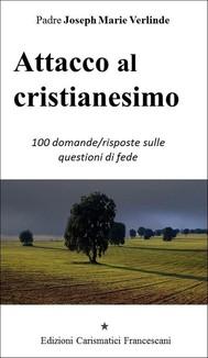 Attacco al cristianesimo - copertina