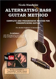Alternating Bass Guitar Method (Fingerpicking lessons with video) - copertina