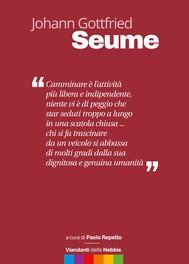 Johann Gottfried Seume - copertina