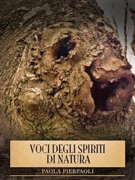 Voci degli Spiriti di Natura - Librerie.coop