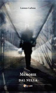 Memorie dal nulla - copertina