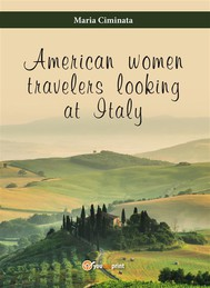 American woman travelers looking at Italy - copertina