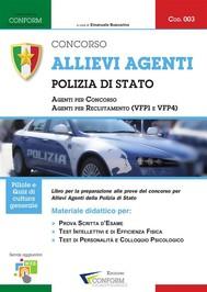 003 | Concorso Allievi Agenti Polizia di Stato (Prova scritta d'esame e TPA) - copertina