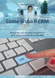 Come si usa il CRM - copertina