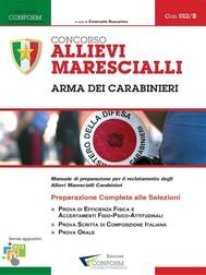 012B | Concorso Allievi Marescialli Arma dei Carabinieri (TPA, Tema, Prova Orale) - copertina