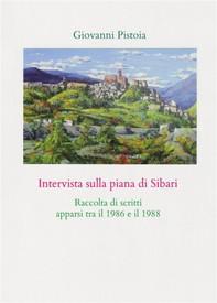 Intervista sulla piana di Sibari - Librerie.coop