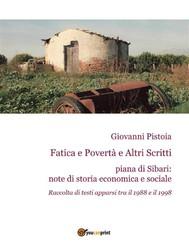 Fatica e Povertà e Altri Scritti - copertina