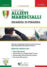 Concorso Allievi Marescialli - Guardia di Finanza - copertina