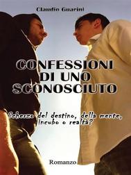 Confessioni di uno sconosciuto - copertina