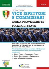 Concorso Vice Ispettori e Commissari - Polizia di Stato - copertina