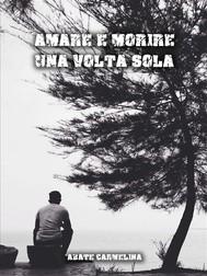 Amare e morire una volta sola - copertina