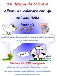 16 disegni da colorare - copertina