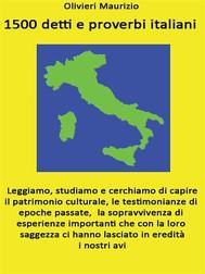 1500 detti e proverbi italiani - copertina