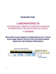 Laboratorio di Tecnologie e progettazione di sistemi informatici e di telecomunicazioni- 1° edizione - Librerie.coop