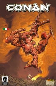 Conan 16. Sul colle Uskuth - copertina