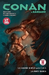 Conan il Barbaro 12. La canzone di Bêlit & La morte bianca - copertina