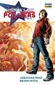 America's Got Powers 1 - copertina