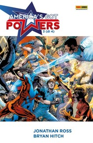 America's Got Powers 3 - copertina