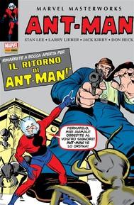 Ant-Man E Giant-Man 1 (Marvel Masterworks) - copertina