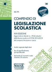 Compendio di Legislazione Scolastica - Librerie.coop
