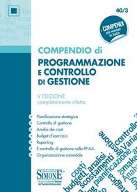 Compendio di Programmazione e Controllo di Gestione - Librerie.coop