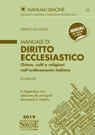 Manuale di Diritto Ecclesiastico - Librerie.coop