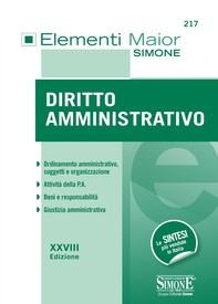 Elementi Maior di Diritto Amministrativo - Librerie.coop