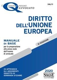 I Quaderni del praticante Avvocato - Diritto dell'Unione europea - Librerie.coop