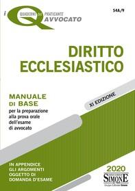 I Quaderni del Praticante Avvocato - Diritto Ecclesiastico - Librerie.coop