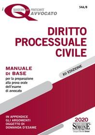 I Quaderni del praticante Avvocato - Diritto Processuale Civile - Librerie.coop