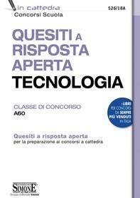 Quesiti a risposta aperta Tecnologia - Classe di concorso A60 - Librerie.coop
