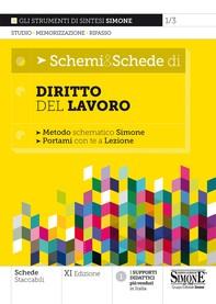 Schemi & Schede di Diritto del Lavoro - Librerie.coop