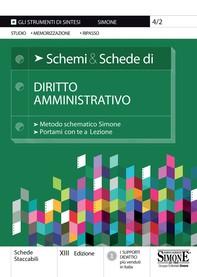 Schemi & Schede di Diritto Amministrativo - Librerie.coop