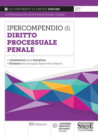 Ipercompendio Diritto Processuale Penale - Librerie.coop