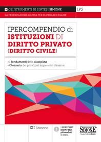 Ipercompendio di Istituzioni di Diritto Privato (Diritto Civile) - Librerie.coop