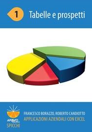 Applicazioni aziendali con Excel 1 Tabelle e prospetti - copertina