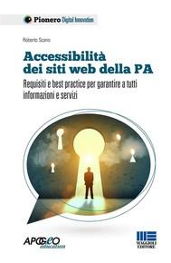 Accessibilità dei siti web della PA - copertina