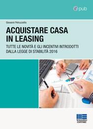 Acquistare casa in leasing - copertina
