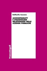 Accountability e stakeholder relationship nelle aziende pubbliche - copertina