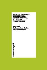 Analisi e modelli di efficienza e produttività a livello territoriale - copertina