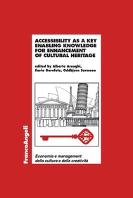 Accessibility as a key enabling knowledge for enhancement of cultural heritage - copertina