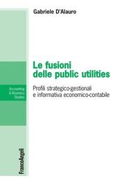 Le fusioni delle public utilities - copertina