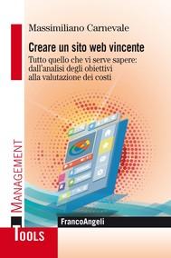 Creare un sito web vincente - copertina