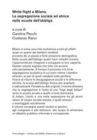 White flight a Milano - copertina